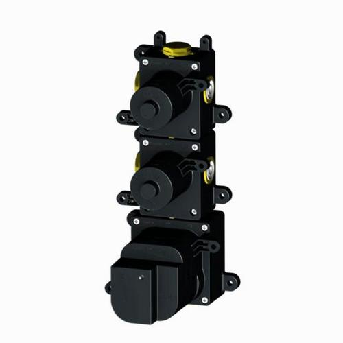Herzbach Logic XL 2 Universal-Thermostat-Modul mit 2 Absperrventilen 11.220000.1.09