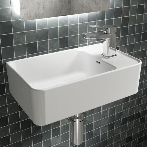 Ideal Standard Strada II Handwaschbecken B: 45 T: 27 cm, Becken links weiß T299401