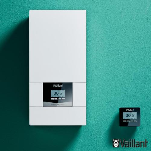 Vaillant electronicVED E exclusive Durchlauferhitzer, vollelektronisch geregelt, 20 bis 55°C 0010023747, EEK: A