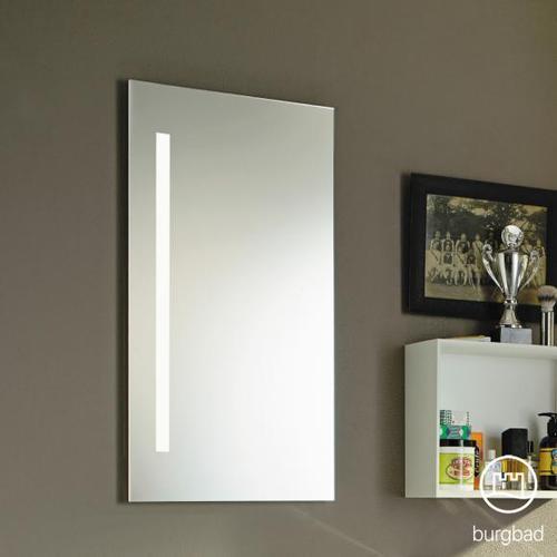 Burgbad Eqio Spiegel mit vertikaler LED-Beleuchtung B: 40 H: 80 T: 2,6 cm SIEG040PN258, EEK: A+