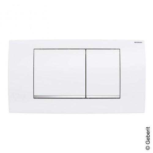Geberit Twinline30 Betätigungsplatte weiß 115899KJ1