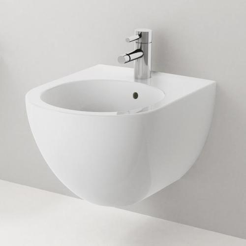Geberit Acanto Wand-Bidet L: 51 B: 35 cm weiß, mit KeraTect 500601018