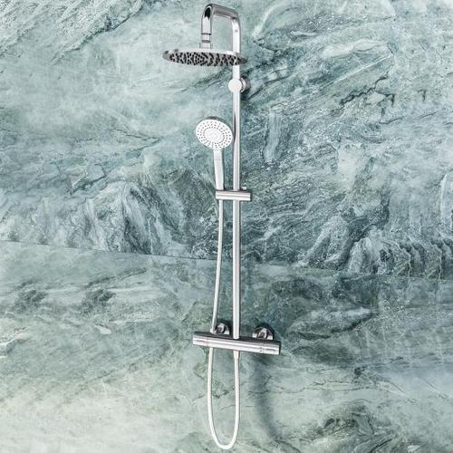 Ideal Standard Idealrain Duschsystem Evo mit CeraTherm 100 Brausethermostat A6983AA