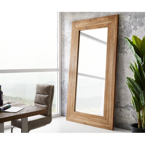 DELIFE Wandspiegel Alban 245x135 cm Santoso Teak, Spiegel