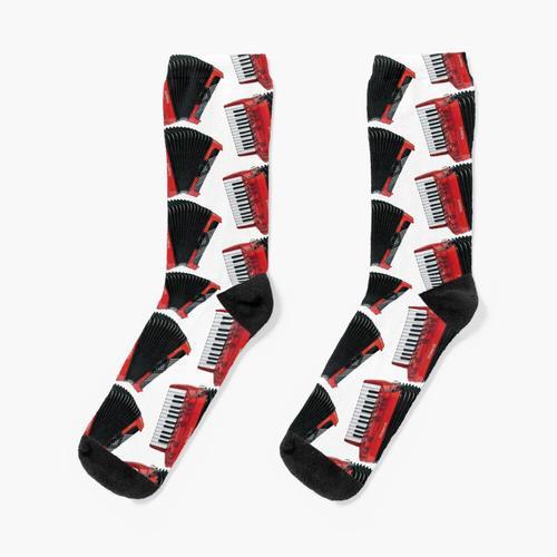 Akkordeon für Sie Socken