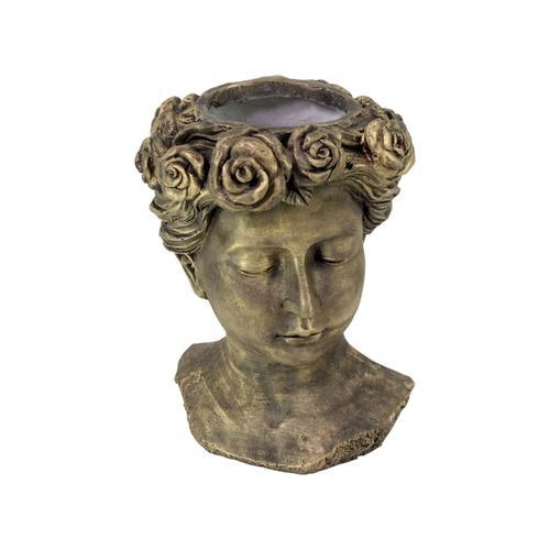 VOSS Design »Rose« Pflanztopf gold