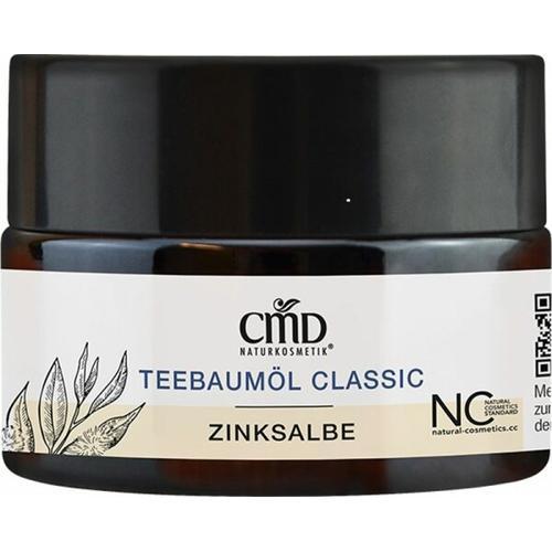 CMD Naturkosmetik Teebaumöl Zinksalbe 15 ml Pickeltupfer