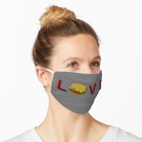 Hamburger Liebe Burger Liebe Maske