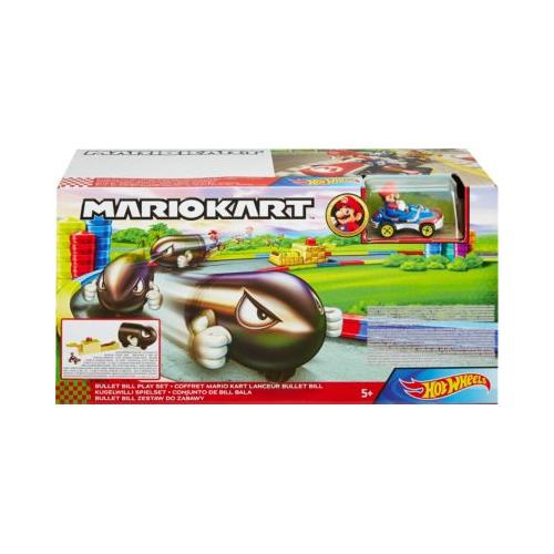 Hot Wheels Mario Kart Kugelwilli Spielset inkl. 1 Spielzeugauto