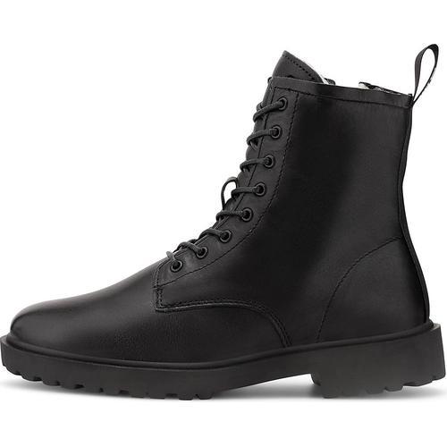Blackstone, Schnür-Stiefelette Ul64 in schwarz, Stiefeletten für Damen Gr. 40