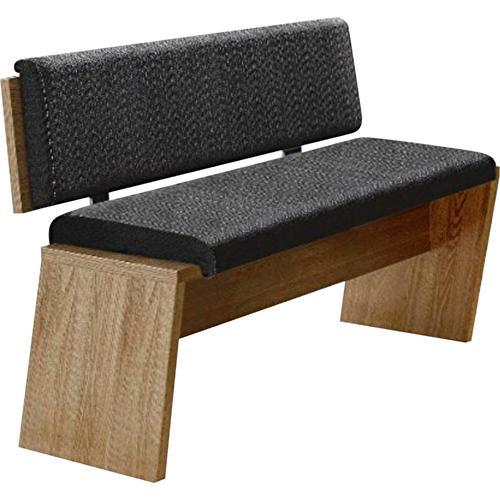 Innostyle Essbank, inkl. Sitzkissen grau Essbank Essbänke Sitzbänke Stühle