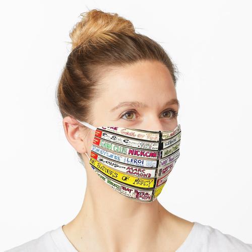 Mixtape Mixed Media Maske