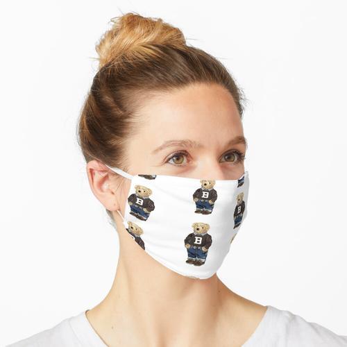 Brauner U-Bär Maske