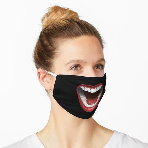 Offener Mund Maske