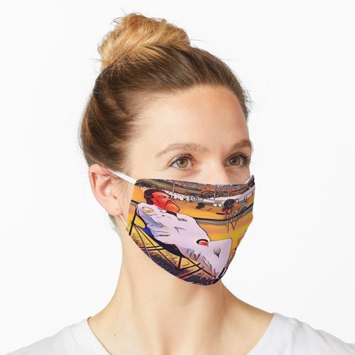 Fernando Alonso Liegestuhl Maske