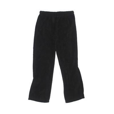 Young Hearts Fleece Pants - Elastic: Black Sporting & Activewear - Size 5