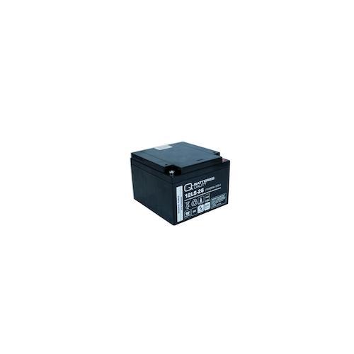 Q-Batteries 12LS-26 12V 26Ah Blei-Vlies-Akku / AGM VRLA mit VdS