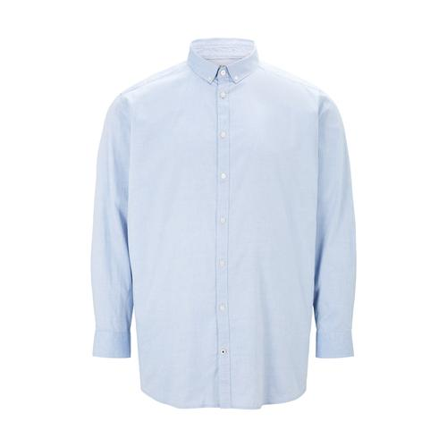 TOM TAILOR Herren Basic Oxford Hemd, blau, Gr.3XL