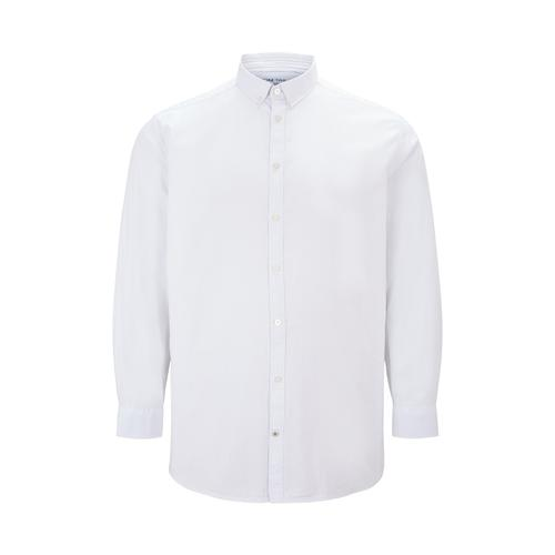 TOM TAILOR Herren Basic Oxford Hemd, weiß, Gr.4XL