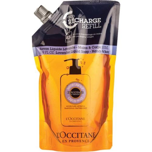 L'Occitane Nachfüllpackung Shea Flüssigseife Lavendel 500 ml