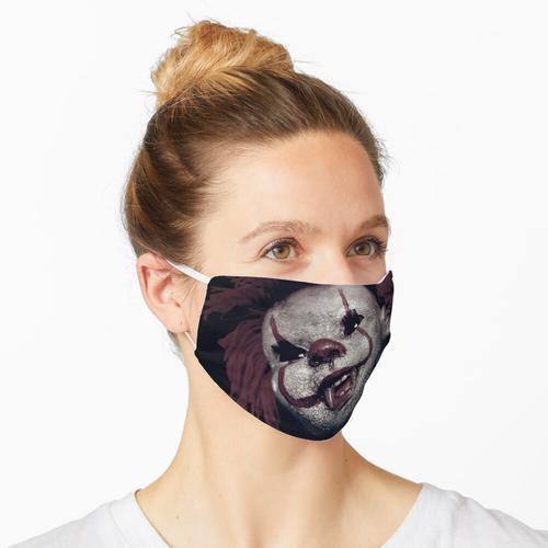 Gruseliger Clown, Clown, Killer Clown, Horror Clown, gruselige Puppe Maske