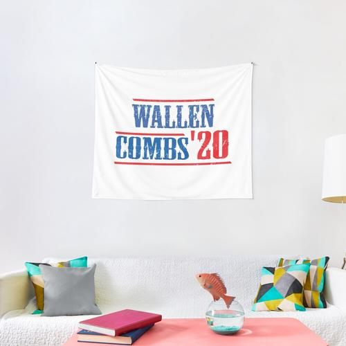 Morgan Wallen and Luke Combs 2020 Cool Vintage, Wallen Combs '20, Wallen Combs for Pre Wall Tapestry