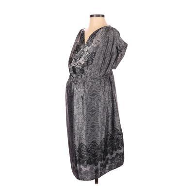 Motherhood Casual Dress - Midi: ...