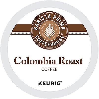 96 Ct Barista Prima Coffeehouse Colombia Coffee 96-Count (4 Boxes Of 24) K-Cup® Pods. Coffee