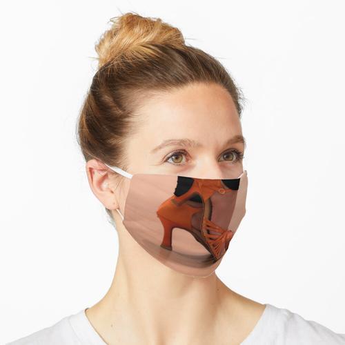 Frau Tanzschuhe Maske