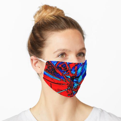 Abstrakte Satellitenschüssel Maske