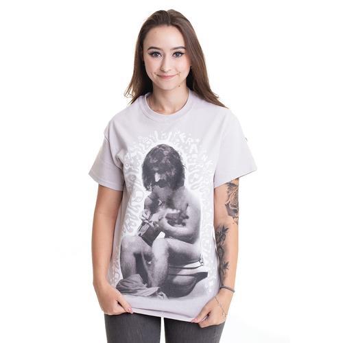 Frank Zappa - Crapper Grey - - T-Shirts