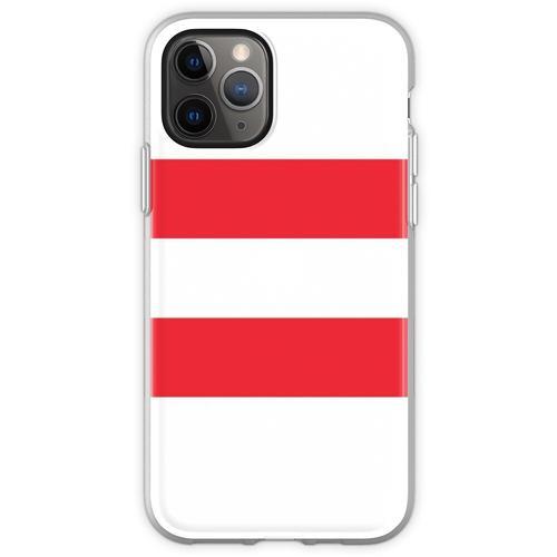 Oesterreichische Fahne - Österreichische Flagge - Österreich T-Sh Flexible Hülle für iPhone 11 Pro