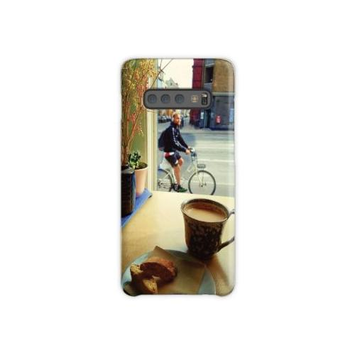 Kaffee und Fahrrad Samsung Galaxy S10 Plus Case