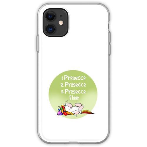 1 Prosecco, 2 Prosecco, 3 Prosecco, Boden, Flexible Hülle für iPhone 11