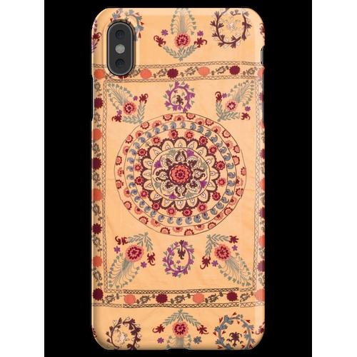 Samarkand Suzani Antiker Usbekistan Teppich iPhone XS Max Handyhülle