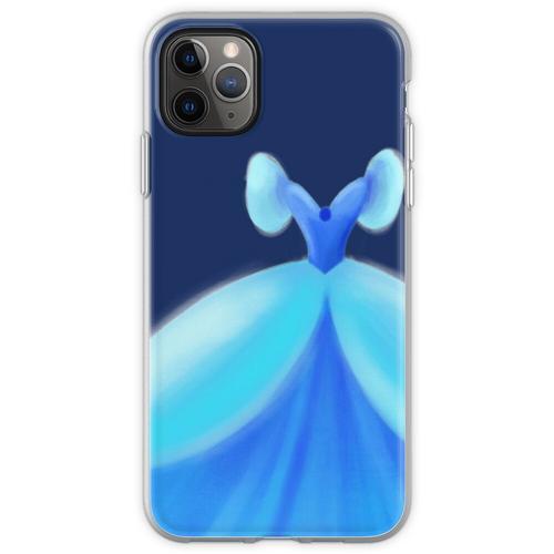 Blaues Ballkleid Flexible Hülle für iPhone 11 Pro Max