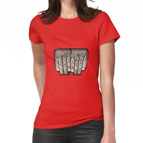 Mitchums Hände (rot) Frauen T-Shirt