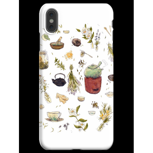 Tee Pflanzen - Willow's Tea Collection iPhone XS Max Handyhülle