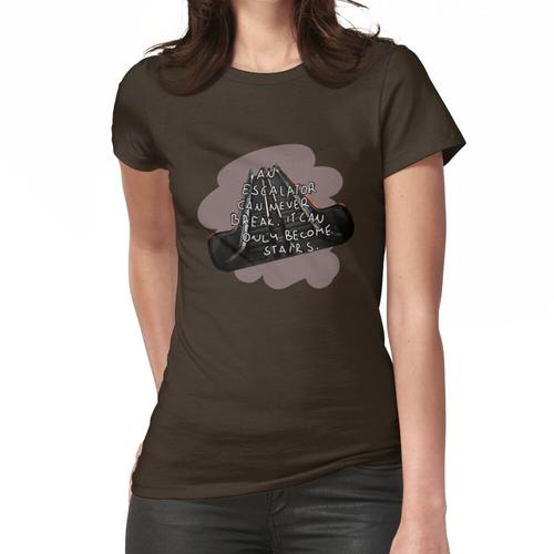 Rolltreppe Frauen T-Shirt
