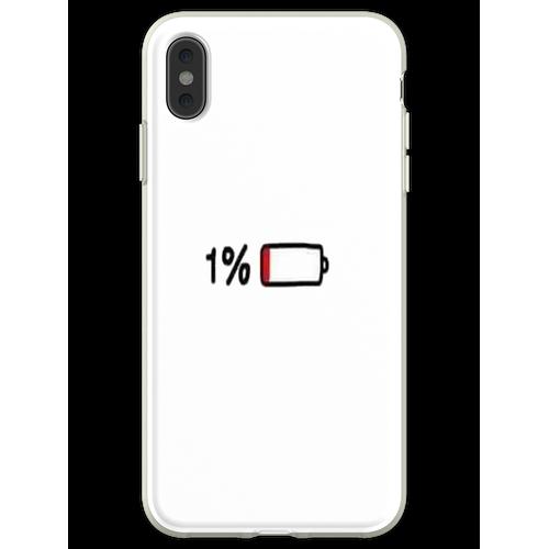 1% Akkulaufzeit Flexible Hülle für iPhone XS Max