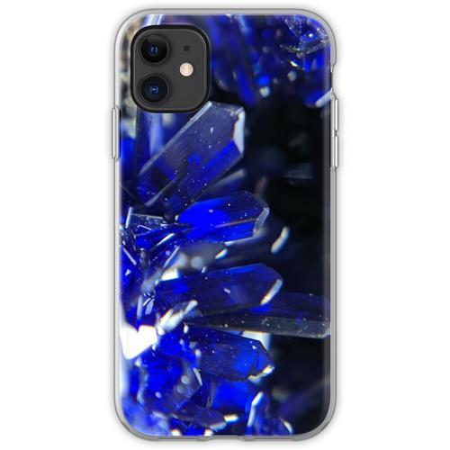 Azurit-Kristalle Flexible Hülle für iPhone 11