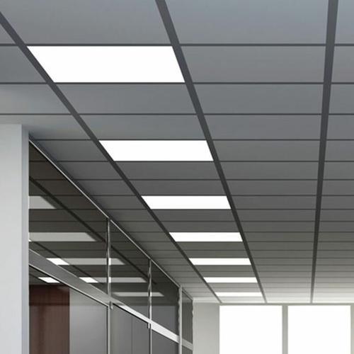 Etc-shop - 7er Set LED Decken Lampen Einbau Arbeitszimmer Raster Alu Strahler weiß EEK A