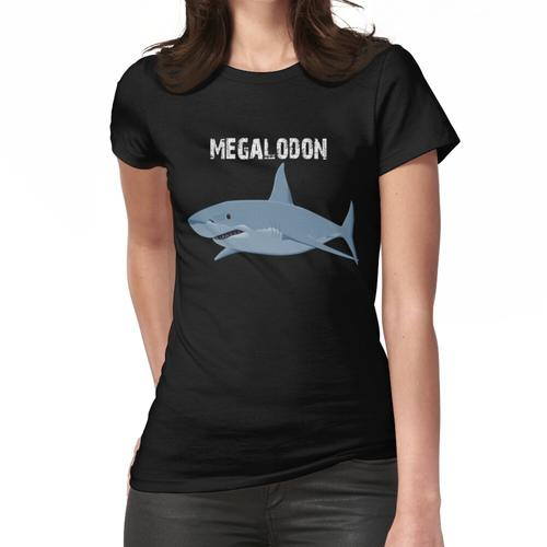 Megalodon Hai - Megalodon Hai-Shirt - Megalodon Hai-Malerei - Hai-Geschenk - Meeresbi Frauen T-Shirt