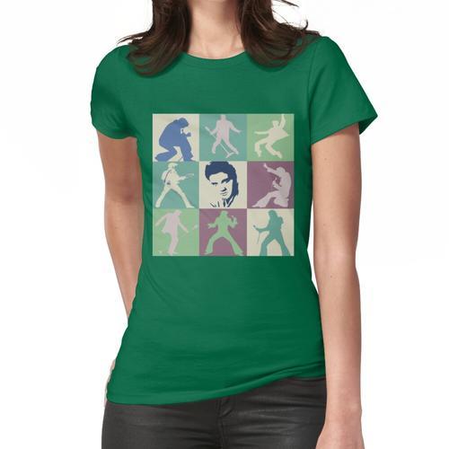 Elvis - Blaue Wildlederschuhe Frauen T-Shirt