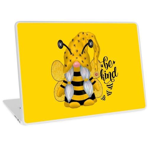 Bienenfreundlicher Gnom Laptop Skin
