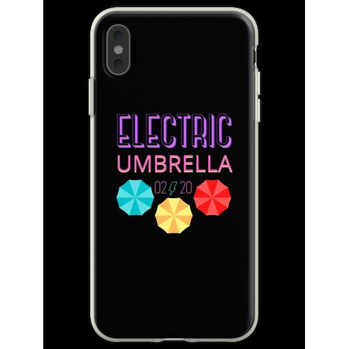 Elektrischer Regenschirm Flexible Hülle für iPhone XS Max