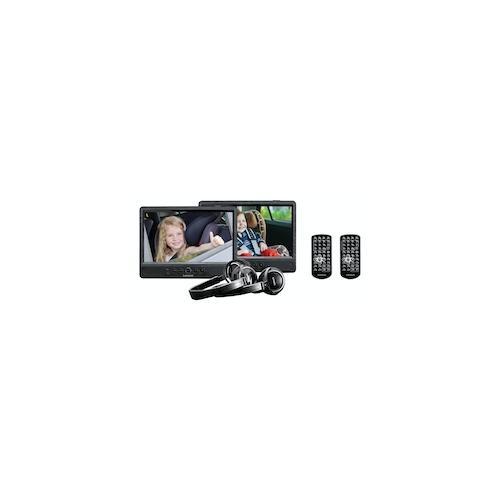 Lenco DVP-1045 Tragbarer DVD-/Blu-Ray-Player Tragbarer DVD-Player Wand-montiert Schwarz 25,4 cm (10 Zoll) 1024 x 600 Pixel