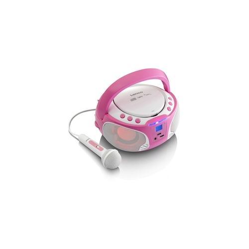 Lenco SCD-650 pink Tragbar