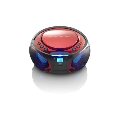 Lenco SCD-550 Digital 3,6 W Rot