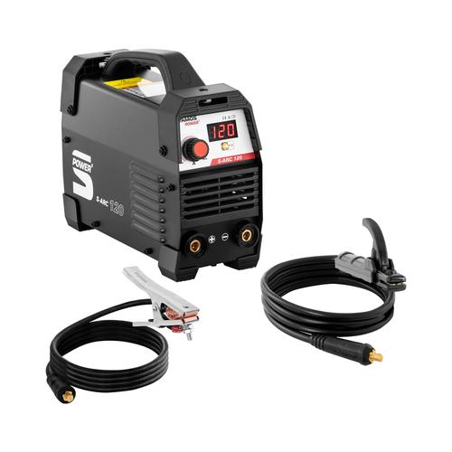 Stamos Power ² Elektroden Schweißgerät - 120 A - Hot Start - Griff S-ARC 120